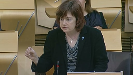 Scottish Labour's local government spokesperson Sarah Boyack
