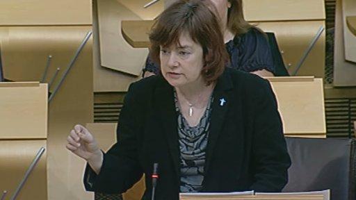 Scottish Labour's local government spokesperson Sarah Boyack