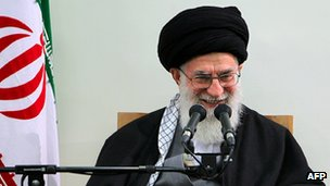 Ayatollah Ali Khamenei speaking in Iran (8 March 2012)
