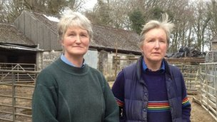 Angela (left) and Helen Winsor