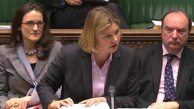 Justine Greening MP, Transport Secretary