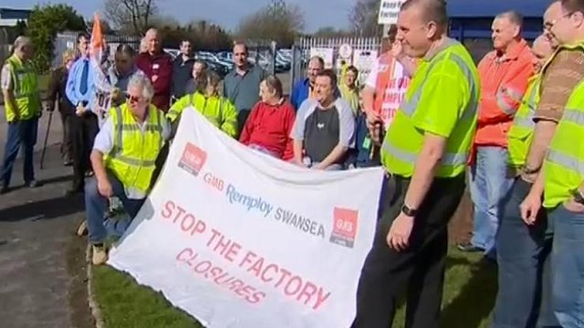 Remploy workers and supporters