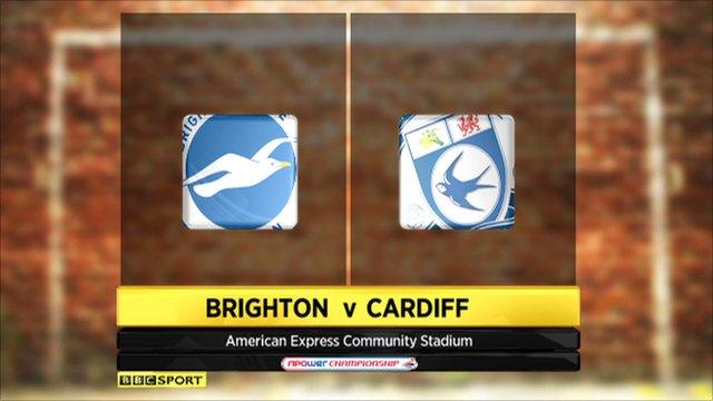 Brighton 2-2 Cardiff