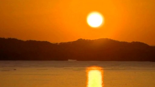 Sunrise in Matsushima