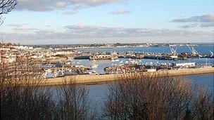 Guernsey's St Peter Port Harbour
