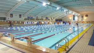 London 2012 china 39 s olympic swimmers to train in bath - University of bristol swimming pool ...