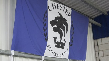 Chester FC&#039;s flag