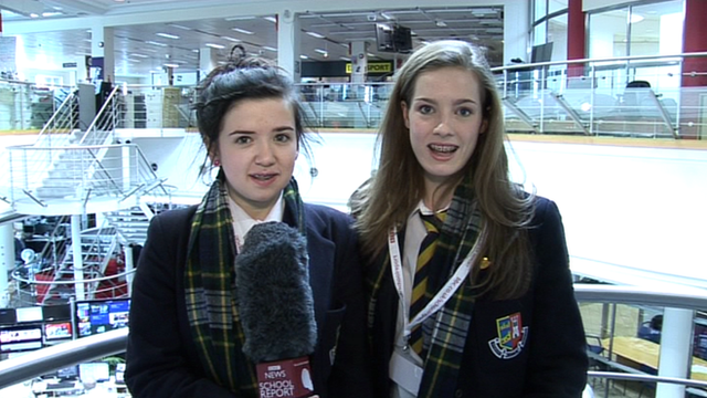 BBC News School Reporters Olivia and Alix investigate what news is.