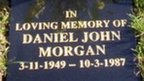 The memorial to Daniel Morgan