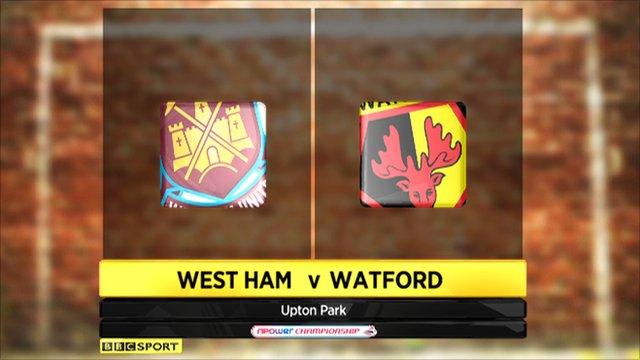 West Ham 1-1 Watford