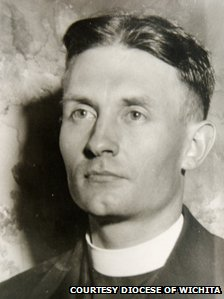 Father Emil Kapaun, courtesy diocese of Wichita
