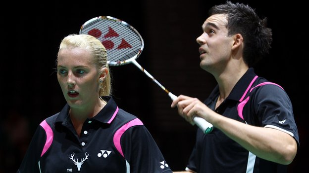 Imogen Bankier and Chris Adcock
