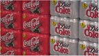 Coke cans file picture
