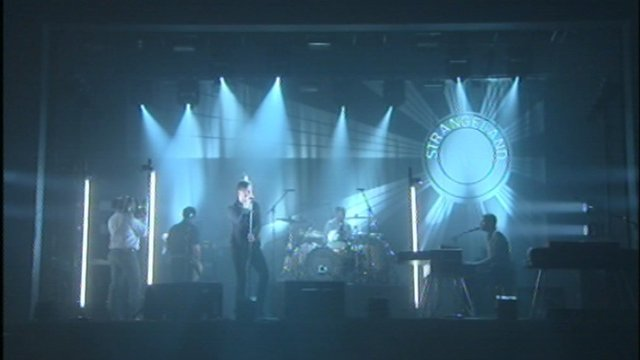 Keane on stage
