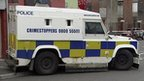 PSNI landrover