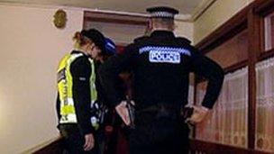 Police raid in Aberdeen