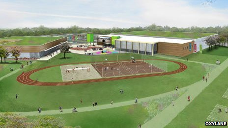 Artist's impression of the proposed centre at Broxtowe