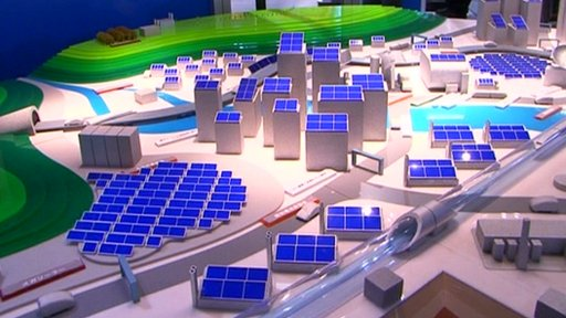 Solar powered city design