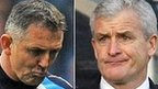 Owen Coyle, Mark Hughes, Terry Connor, Steve Kean and Roberto Martinez