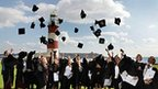 Graduates celebrate