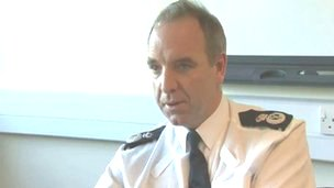 Chief constable Mark Polin