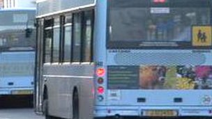 Bus in Jersey