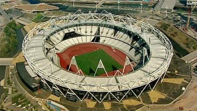 London 2012 Olympic stadium, London