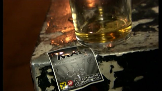 Example of a 'legal high' sold online