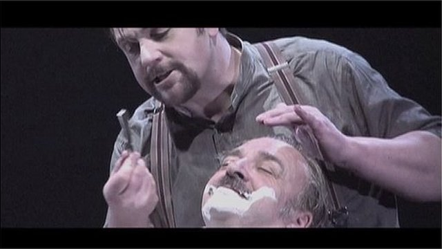 Michael Ball in Sweeney Todd - The Demon Barber Of Fleet Street