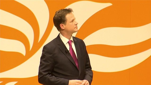 Nick Clegg MP, Deputy Prime Minister