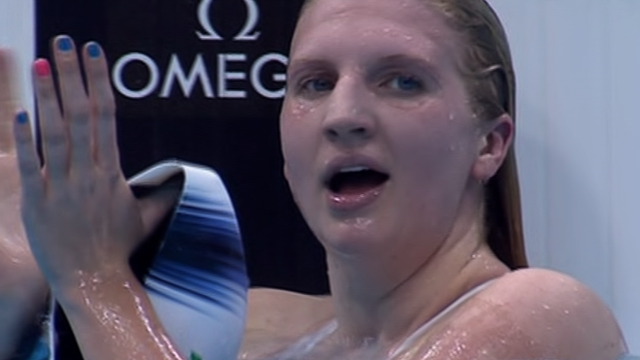 Rebecca Adlington Wins To Qualify For Olympic 800m