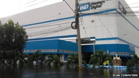 Western Digital in Thailand