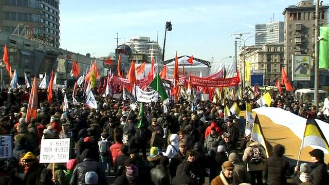 Rally in Moscow