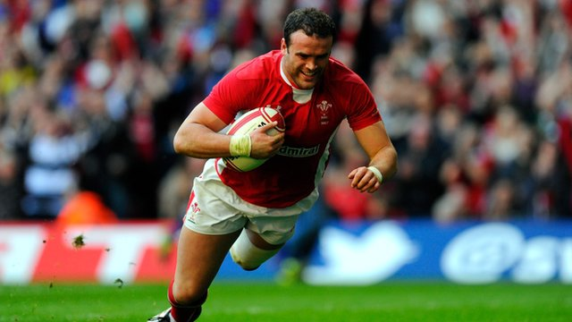 Wales&#039; Jamie Roberts