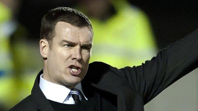 Ayr Utd manager Brian Reid