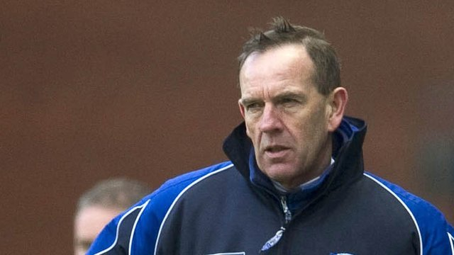 Kilmarnock manager Kenny Shiels