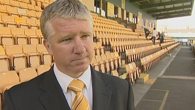 Torquay United manager Martin Ling