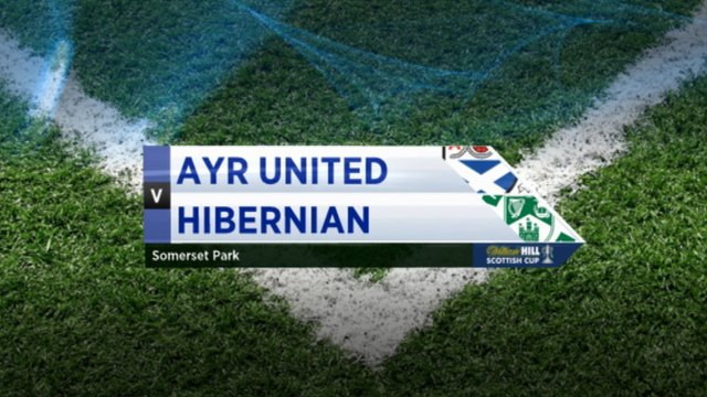 Highlights - Ayr Utd 0-2 Hibernian
