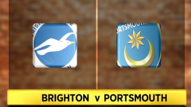 Brighton 2-0 Portsmouth