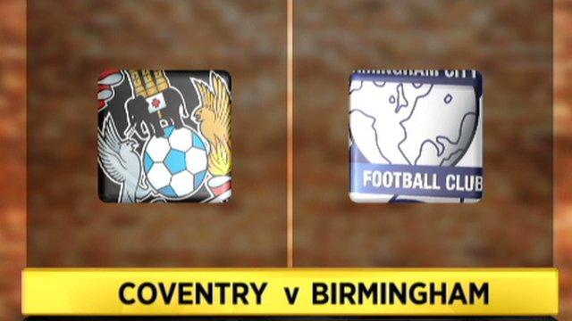 Coventry 1-1 Birmingham