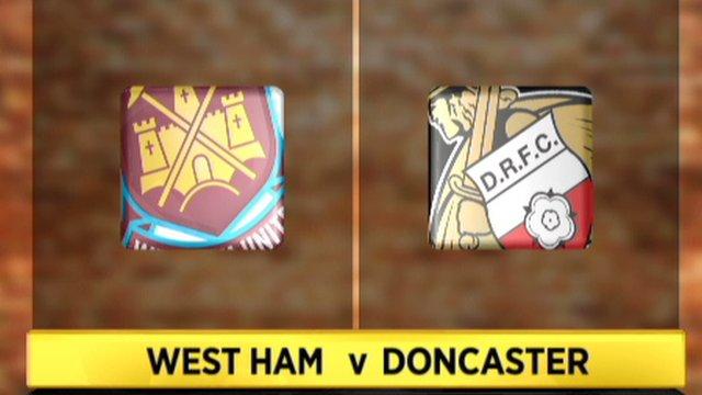 West Ham 1-1 Doncaster