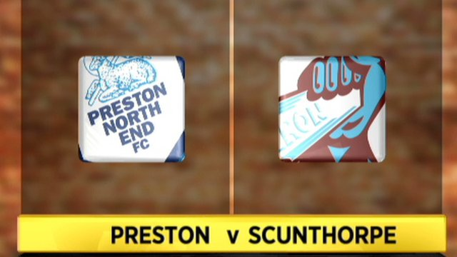 Preston 0-0 Scunthorpe