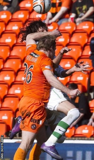 Neilson's elbow into the face of Samaras reduced United to 10 men