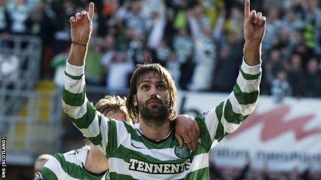 Samaras scored one and earned a penalty in Celtic's win