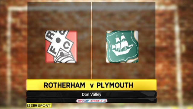 Rotherham 1-0 Plymouth