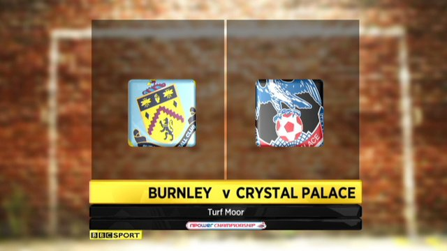 Burnley 1-1 Crystal Palace