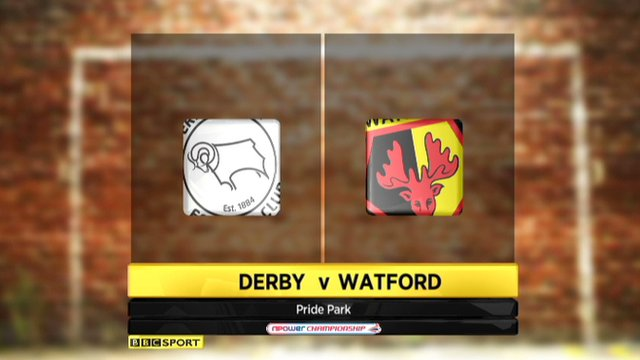 Derby 1-2 Watford