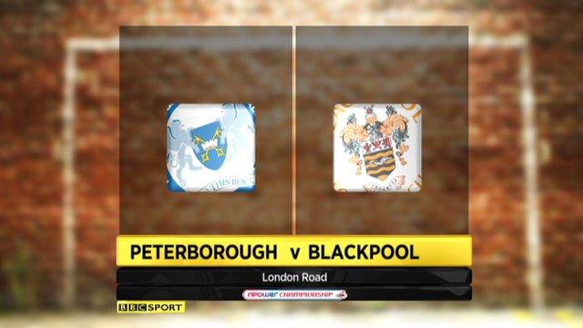 Peterborough 3-1 Blackpool