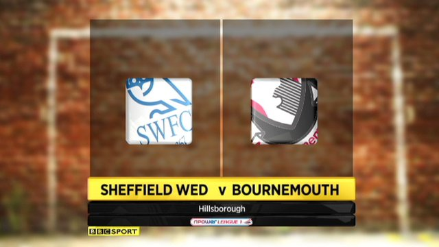 Highlights: Sheffield Wed 3-0 Bournemouth