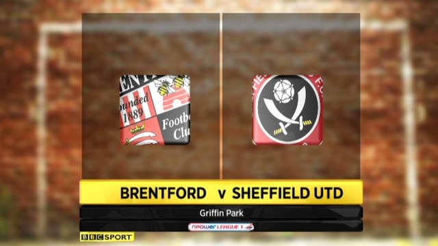 Brentford 0-2 Sheffield United